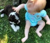 BabywithPuppy